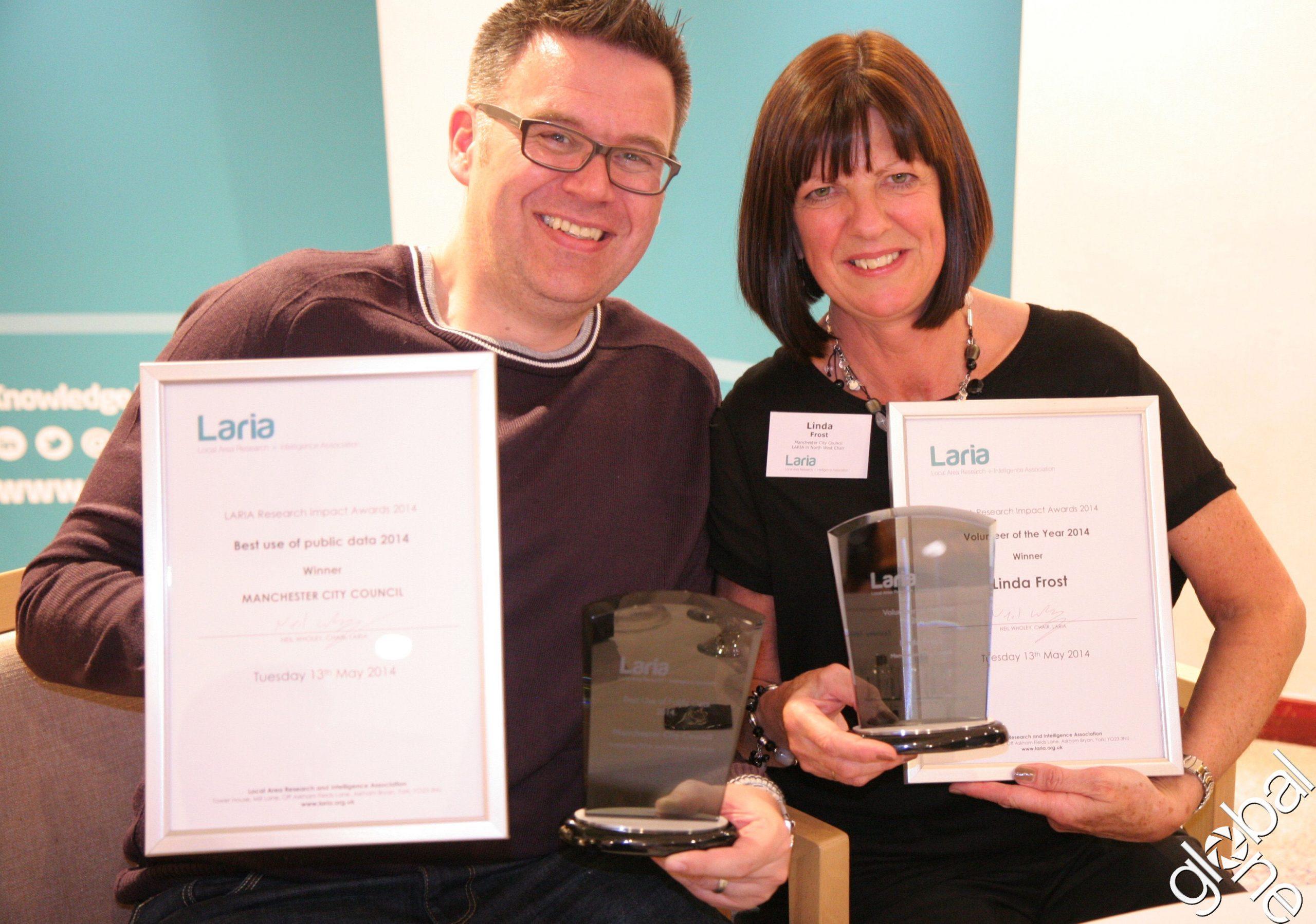 LARIA Award Winners